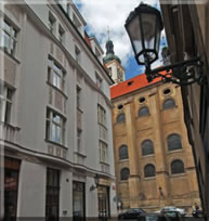 Cheap accommodation in Prague - Templová 4a
